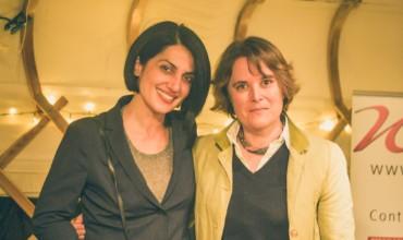 Shiva Rahbaran and Vesna Goldsworthy