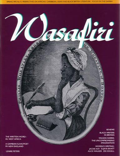 Wasafiri Issue 15