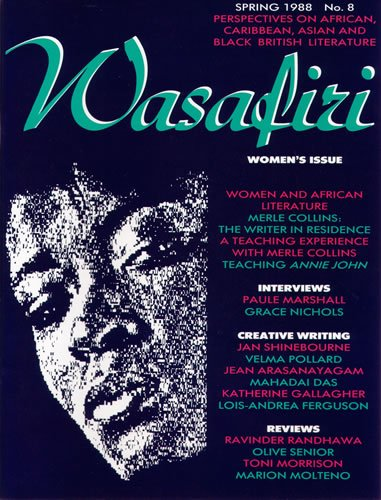 Wasafiri Issue 8