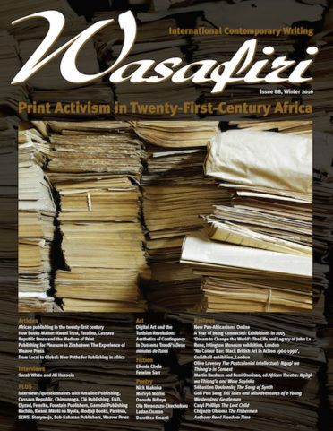 Wasafiri Issue 88