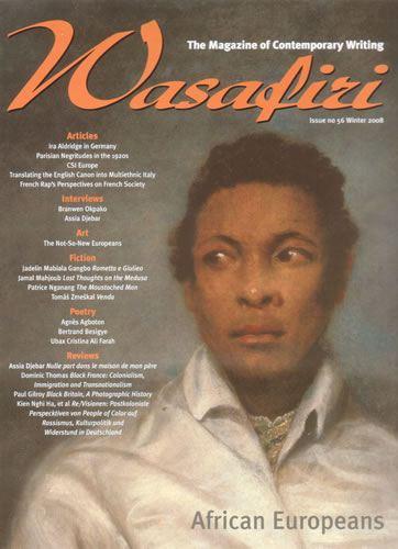Wasafiri Issue 56