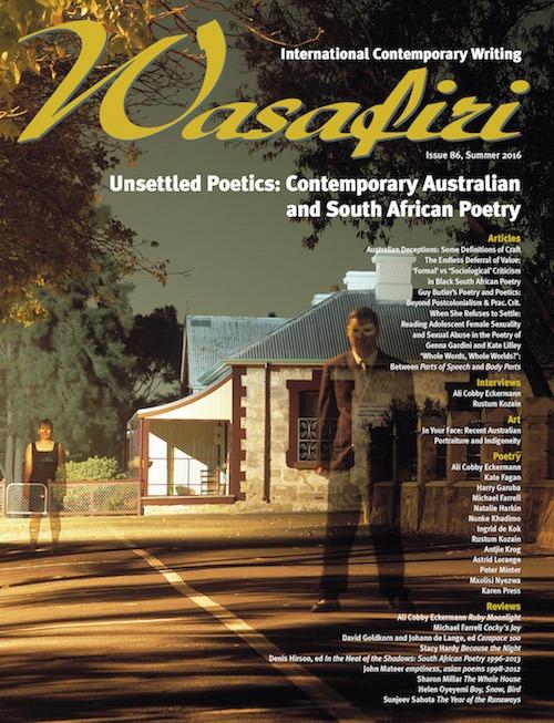 Wasafiri Issue 86