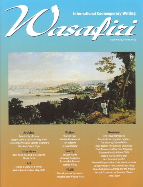 Wasafiri Issue 73