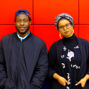 Caleb Femi and Momtaza Mehri