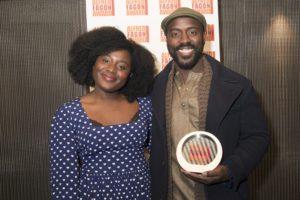 Susan Wokoma and Akpore Uzoh
